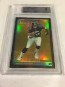 2003 Bowman Chrome Gold Refractor Rookie Andre Johnson Ref Rc /50 Bgs 9 Mint