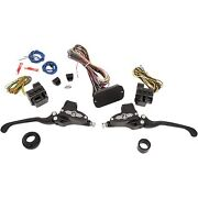 Performance Machine - 0062-4026-bm - Can Bus Hand Control Complete Set Harley St