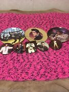 Elvis Presley Plates And Photo