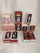 Lot Of 1994-1997 Hallmark Collector's Club Holiday Barbie Ornaments