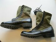 Original Us Vietnam Issue Bata And Ro-search Mis-match Boots Size 12r
