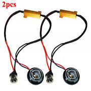 2x 1156 7506 Hyper Flash Fix No Error Wiring Adapters For Led Turn Signal Lights