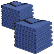 12 Moving Blankets 80and034 X 72and034 35lb/dz Packing Quilted Shipping Furnit