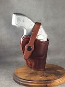 Kimber K6s 3 Owb Two Position Leather Holster By Etw Holsters...hickory, Nc
