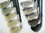 Honma Golf Clubs Twin Marks Tf-201 10pc R-flex Irons Set