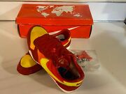 Vintage And Collectible 1985 Nike Flame Mulyr/y Track Spike Shoes Size 6 Used