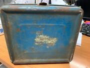 Vtg 1950's Hopalong Cassidy Tin Metal Lunch Box No Thermos No Labels As Is.