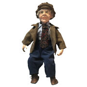 45cm Porcelain Doll Gentleman Grandfather Figures For Kids Adult Collections