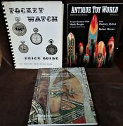 Pocket Watches Antique Toys And Japanese Art Prints And Paintings 3 Books