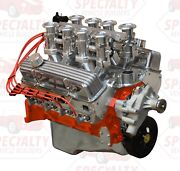 Small Block Chevy 383 Ci 500 Hp Crate Engine With Hilborn Style Fuel Injection