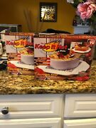 The Original Keep It Hot Microwaveable Hot Plate, New In Box