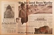 The New Idea Spreader Company 1916-1920 The Country Gentleman 19 Print Ads
