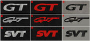 New 1994 - 2004 Ford Mustang Gt Svt Floor Mats Embroidered Logo On All 4