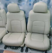 2008-2015 Toyota Land Cruiser V8 Leather Replacement Seat Covers