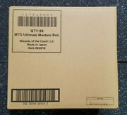 Mtg Magic The Gathering Ultimate Masters Case 4 Boxes W/ Box Toppers Sealed
