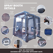 Epa6h Inflatable Spray Booth Portable Paint Mobile Workstation Car Painting Tent