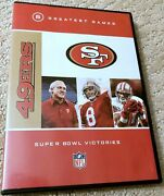 San Francisco 49ers Nfl 5 Greatest Games Super Bowl Victories Very Rare Dvd Hot