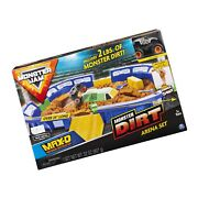 Monster Jam, Monster Dirt Arena 24 Playset With 2lbs Of Monster Dirt And Exclu...