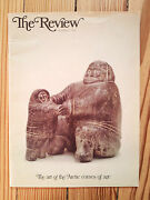 The Review Canadian Magazine 1979 Arctic Inuit Artists Art Stone Carvings