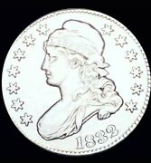1832 Capped Bust Half Dollar Nearly Uncirculated Philadelphia 50c Silver Coin