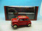 Scalextric Very Rare Jubilee Mini In Red Not Burgundy Mint And In A Period Orig
