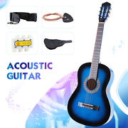 38and039and039 Beginners Electric Acoustic Guitar W/guitar Casestraptuner And