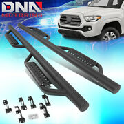 For 2005-2020 Tacoma Double Cab Round Bar Side Step Nerf Bar Running Boards