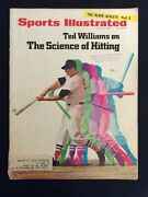 Sports Illustrated July 81968 Ted Williams-the Science Of Hitting M1231