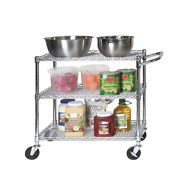 Seville Classics 3-tier Commercial-grade Nsf Listed Service Utility Cart