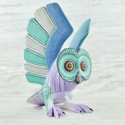Owl Alebrije Masterpiece Oaxacan Wood Carving A1986 | Magia Mexica