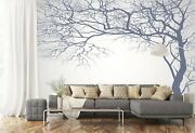 3d Tree Branches A350 Business Wallpaper Wall Mural Self-adhesive Commerce Amy