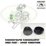 Land Rover Centre Console Cup Holder Base Smoke + Top Tray Black Discovery Used