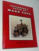 Old Store New 1988 Greenberg's Guide To Marx Toys Book, Vol.i, By Maxine Pinsky