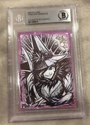 2006 Breygent Wizard Of Oz Wicked Witch Of The West Sketch Card Beckett Bas 1/1
