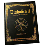 Diabolico Ii Exploring The Realm Of Dark Art Tattoo Book Out Of Step Books Le