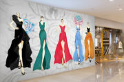 3d Clothing Show A645 Business Wallpaper Wall Mural Self-adhesive Commerce Amy