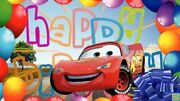New Disney Cars Mcqueen Birthday Party Supplies Tableware And Decorations