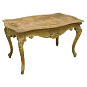 Table Vintage Giltwood Gold French Louis Xv Style 19th / 20th C. Gorgeous