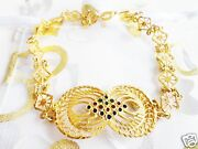 New With Bag 21k Yellow Gold Bracelet 7 Inch Limited Edition