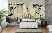3d Simple Building A870 Business Wallpaper Wall Mural Self-adhesive Commerce Amy
