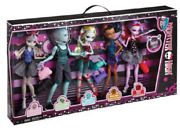 Monster High Dance Class 5-doll Set Brand New And Factory Sealed