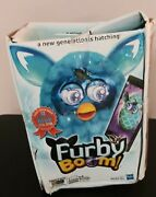 Furby Boom Choice Award Special Edition Teal Pattern Addition Free Shipping