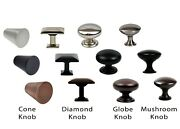 Knob Handle Pull Kitchen Cupboard Cabinet Hardware Modern Brushed Collection