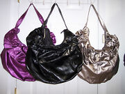 New Womens Large Glitz Ruffle Tote Your Choice Of Color Auction Is For One Purse