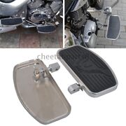 Motorcycle Footpeg Front Rider Floorboards Adjustable Pegs For Honda Shadow Ace