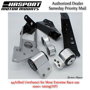 Hasport Dual Height K-series Engine Swap Mount Kit For 90-91 Integra Dakawd-94a