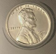 1943-d/d Steel Penny Ms65 Rpm-10 Variety D/d Value 950 Sharp Coin
