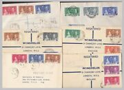 1937 Kgvi Coronation Fdcs - Priced And Sold Individually - Clean Good To Fine