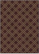 Crimson - Bamboo Pattern Carpet Area Rugs And Runners