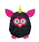Hasbro Furby Boom Black And Pink Yellow Hair Interactive Pet Toy